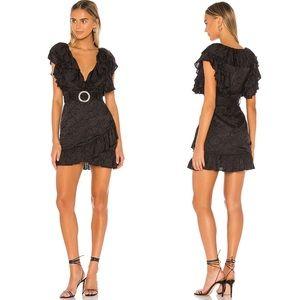 Majorelle Sebastian Mini Dress Black